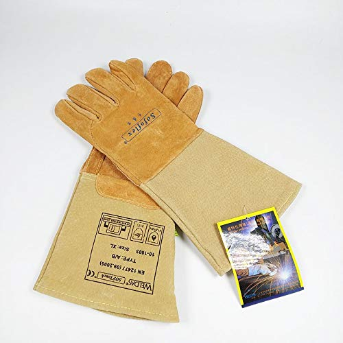 Goquik Welding Gloves Industrial Labor Protection Protective Gloves, Factory Workshop Gloves by Goquik (Image #6)