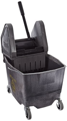 Impact 4G/2635-3G Plastic Down Pressure Wringer and Bucket Combo, 26-35 qt Capacity, Gray by Impact Products