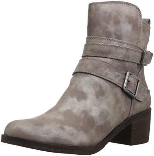 Lucky Brand Women's Cordeena Combat Boot, Taupe, 7.5 Medium US by Lucky Brand