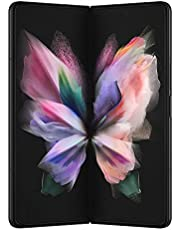 "Samsung Galaxy Z Fold3 5G Phantom Black 512GB - 7.6"" 120 Hz Folding Display & 6.2"" Cover Screen, 12MP+12MP+12MP Rear Camera, IPx8 Water Resistance, Flex Mode (CAD Version & Warranty SM-F926WZKEXAC)"