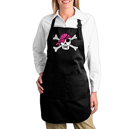 [Valenti47 Jolly Roger Skull Crossbones 2 Exclusive Naked Apron With Pocket] (Smurf Costume Australia)