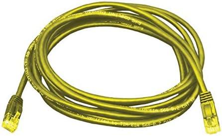 Yellow Cat5e 2.1 m RJ45 Plug RJ45 Plug SANOXY Network Cables SNX- PC5-YL-07 Network Cable 7 ft