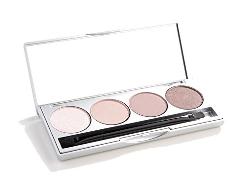 Honeybee Gardens 'Skinny Dip' Refillable Eye Shadow Palette : Natural Ingredients : Gluten Free, Vegan, Paraben Free