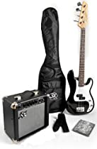 Ursa 1 RN PK BK Black Bass Guitar Pack w/BA 1565 AMP, Carry Bag and On Line Video Instructional
