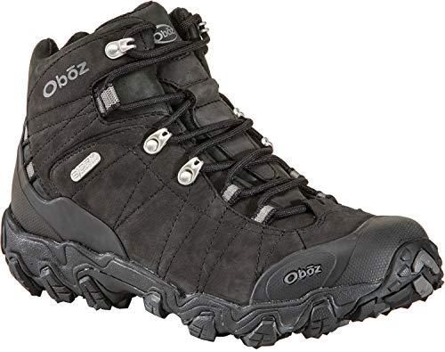 Oboz Men's Bridger BDRY Hiking Boot,Black,9 M US