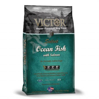 Victor Ocean Fish Formula with Alaskan Salmon Dry Dog Food, 40-Pound