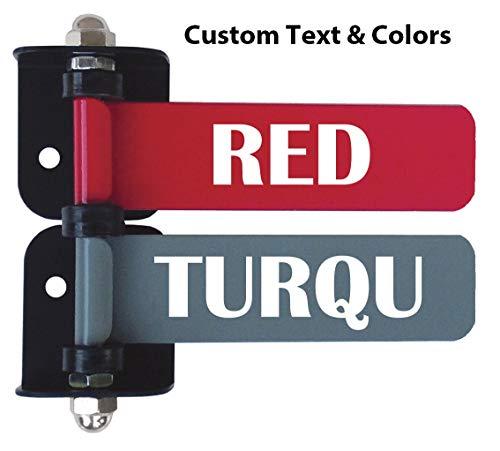 "Custom 4"" Exam Room Flags (1-12 Flag Options W Custom Text) (2 Flag System)"