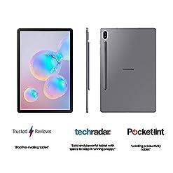 Samsung Galaxy Tab S6 Wi-Fi 128 GB 10.5-Inch Tablet – Mountain Grey (UK Version)