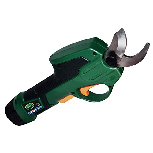 Scotts Outdoor Power Tools PR17215S 7.2-Volt Lithium-Ion Cordless Rechargeable Power Pruner, Green ()