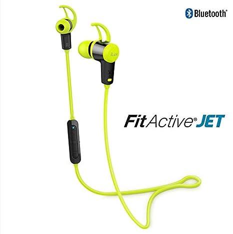 iLuv Fit Active Jet Estéreo Deporte Auriculares Bluetooth Auriculares Verde: Amazon.es: Electrónica