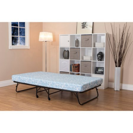 Amazon Com Folding Guest Bed With 5 Mattress Twin Size Tubular