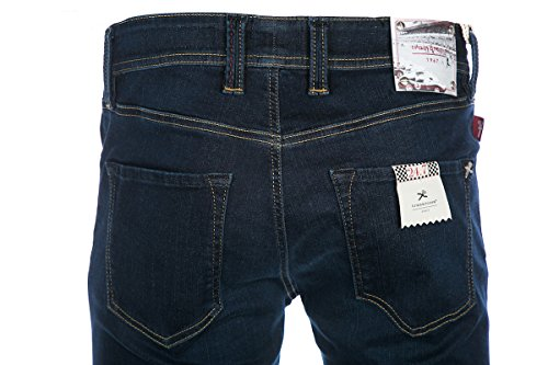 Tramarossa Jean Leonardo Slim in Dark Blue Denim 6 Months