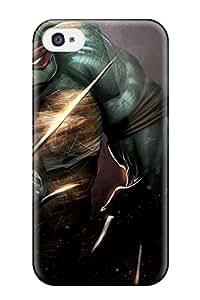Hot New Arrival Premium 4/4s Case Cover For Iphone (raphael Teenage Mutant Ninja Turtles) 4921735K45292236