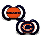 chicago bears stuff - Chicago Bears 2-Tone 2-pack Infant Pacifier Set - 2014 NFL Baby Pacifiers