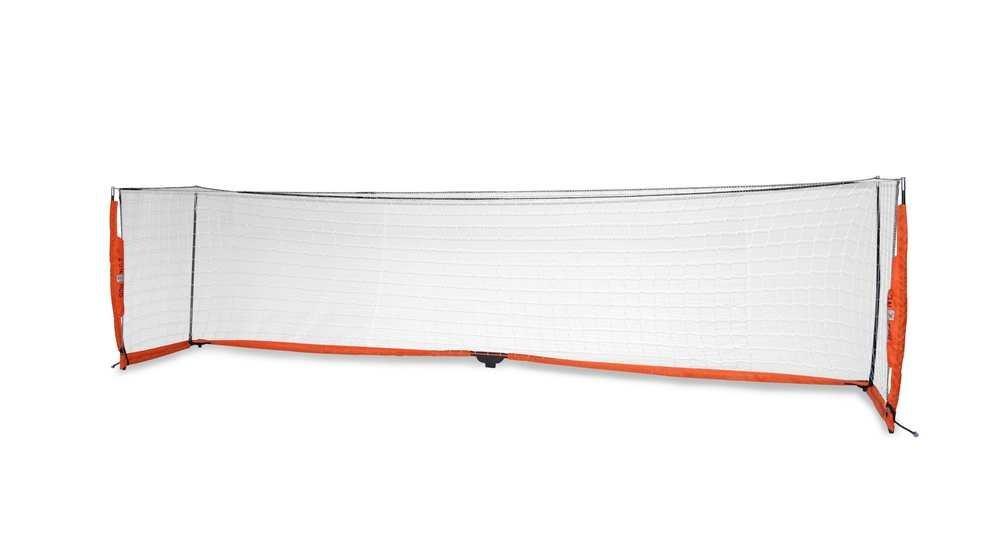 BowNet Soccer 4x16 Portable Nylon Goal Net with Carry Bag - Bow4x16