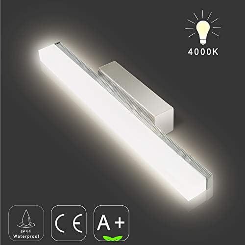 LED Spiegelleuchte mit Schalter 10W Hollywood Stil Schminklicht Dimmbar Gradient Ton Licht 10 LED-Lampen