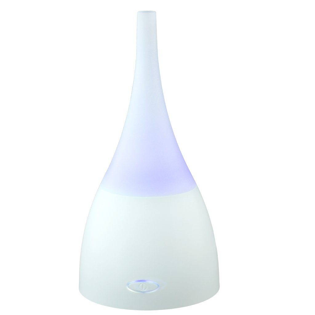 Boxiki Care Essential Oil Diffuser | Ultrasonic Super Quiet Humidifier by Cool Mist Aroma Diffuser with 7 Changing LED Color Lights, Waterless Auto Shut-Off