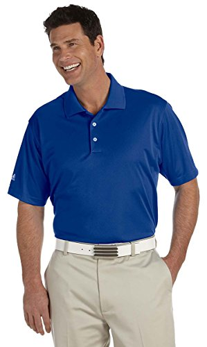 Adidas Golf Men's Performance Short Sleeve Polo Shirt, 2XL, Collegiate Royal