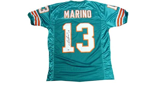 uk availability 0f8d7 a3ca3 Dan Marino Signed PSA/DNA Dolphins Jersey-Official at ...