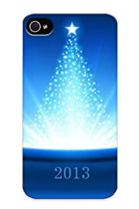 Ellent Design New Year Phone Case For Iphone 4/4s Premium Tpu Case For Thanksgiving Day's Gift