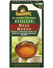McCormick Gourmet, Premium Quality, All-Vegetable Bouillon, Beef Style, 105g