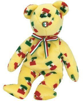 TY Beanie Baby - PINATA the Bear (Mexican Flag Nose)  Toy  0f08f3ded2f4