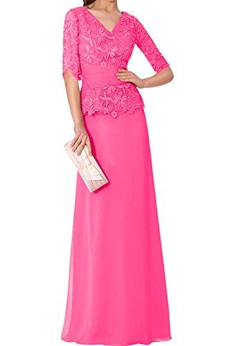 Ivydressing - Vestido - trapecio - para mujer rosa 38