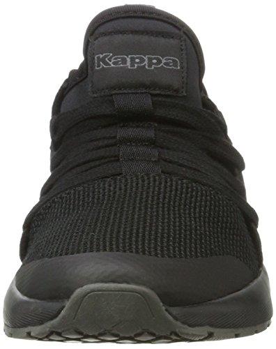 Erwachsene Unisex 1111 Kappa Nesh Black Sneaker Schwarz 4S7WqxWBaU