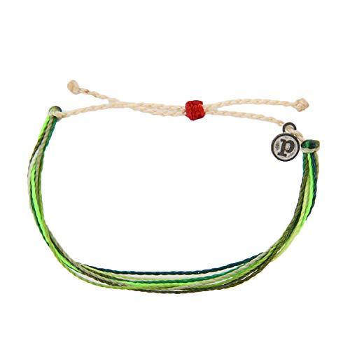 Pura Vida Save The Sea Turtles Bracelet - Waterproof, Artisan Handmade, Adjustable, Threaded, Fashion Jewelry for Girls/Women