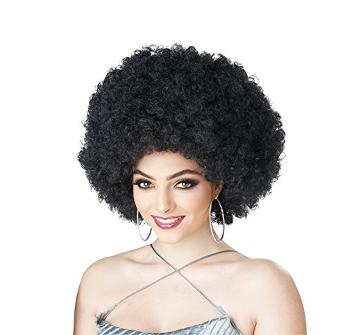 California Costumes Women's Black Foxy Lady Wig, One ()