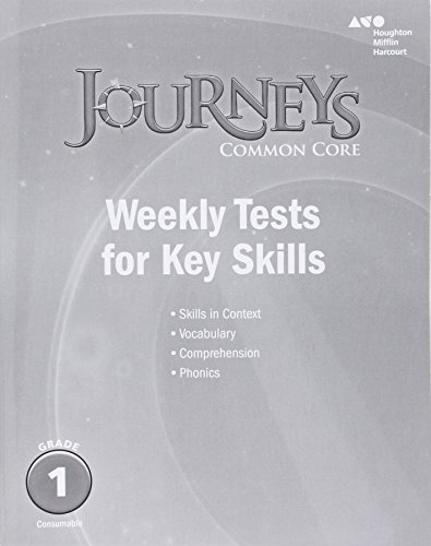 Journeys: Common Core Weekly Assessments Grade 1