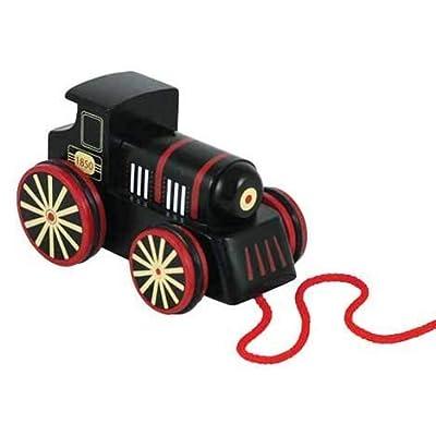 LiÕl Chugs Wooden Pull Along Steam Engine: Toys & Games