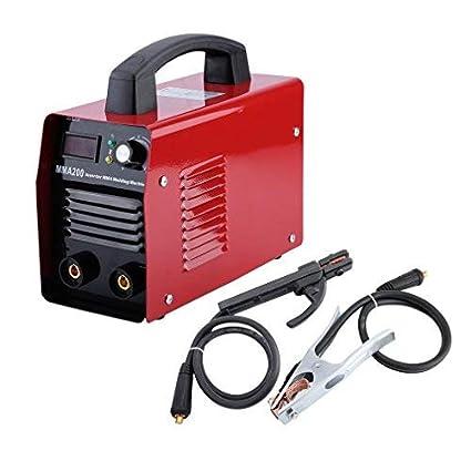 Hehilark Inverter DC E-Hand MMA 200 - Aparato de soldadura de electrodos IGBT