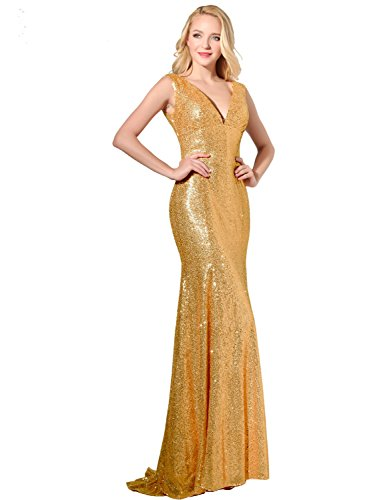 House Sequined Woman Gowns Full Bridal Party Length Dresses Formal Long s Belle afTa4