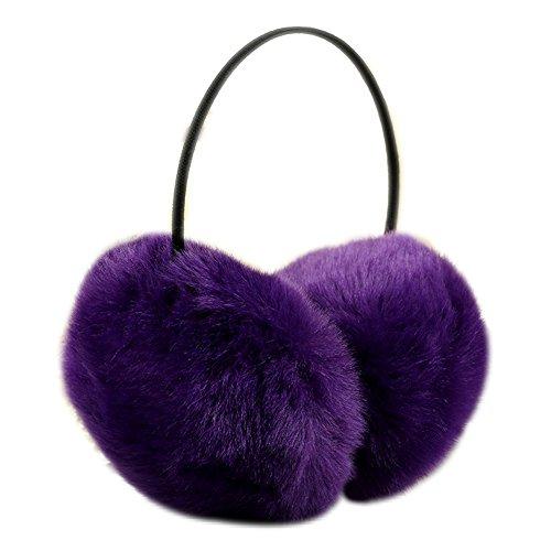 Kseey Classic Fleece Earmuffs Warmth Ear Muffs Winter Faux Fur Ear Warmers Earmuffs for men and women