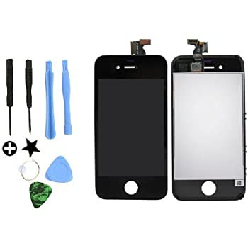 For iPhone 4 Black Original LCD, Touch Screen Digitizer and Free 7 Piece Tools, Safely Packed (GSM/AT&T)