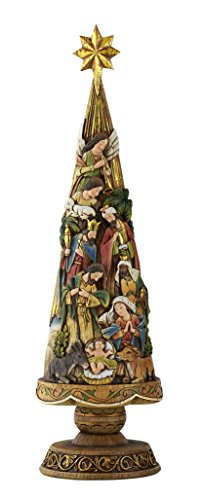Nativity Tree Ornament - Avalon Gallery Nativity Christmas Tree Figurine