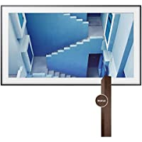 Samsung UN65LS003 65 The Frame 4K UHD Smart TV with 65 The Frame Customizable Bezel (Dark Wood)