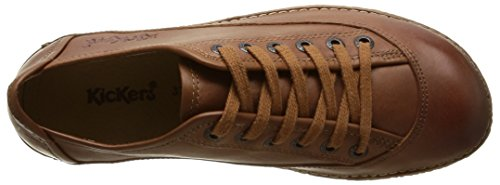 Basses Femme Hollyday camel Marron Kickers Baskets w1H6nqUxR