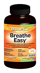 Crystal Star Breathe Easy (formerly Natural HST), 60 Capsules