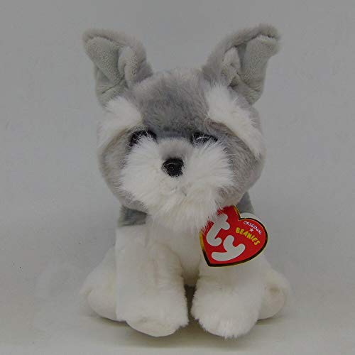 Motonupic Ty Beanie Babies 6 Quot 15cm Harper Grey Schnauzer Plush Regular Stuffed Animal Dog Collection Soft - Collectors 2019 Bears Doll Zebra Lamb Nick Classic Frog Original Fish Rainbow G from Motonupic