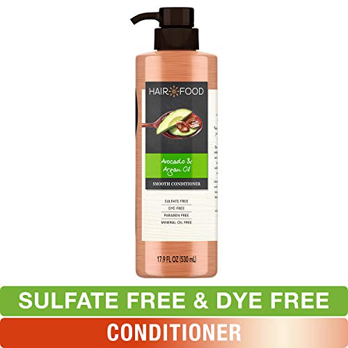 Sulfate Free Conditioner, Dye Free Smoothing Treatment, Argan Oil and Avocado, Hair Food, 17.9 FL OZ ()