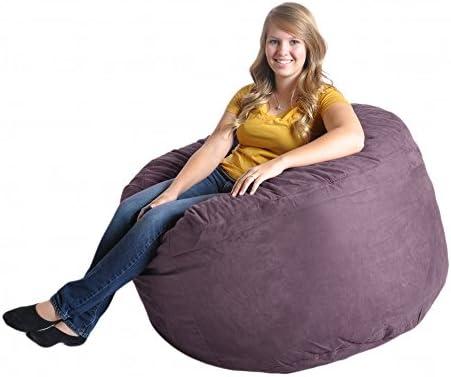 Reviewed: SLACKER sack 4-Feet Foam Microsuede Beanbag Chair