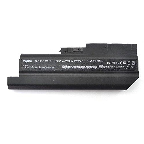 Sunydeal 7200mAh Notebook Laptop Ersatz Akku Batterie für IBM Lenovo Thinkpad R60 R60e R61 R61e R61i R500 T60 T60p T61 T61p SL300 SL400 SL500 T500