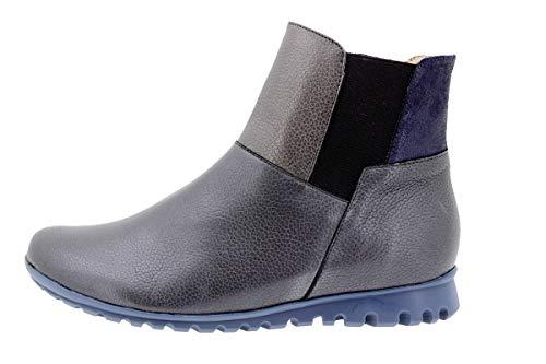 Larghezza Stivali Piesanto Casual Speciale Negro 9544 Pelle Scarpe Comfort Donna Xq6X0