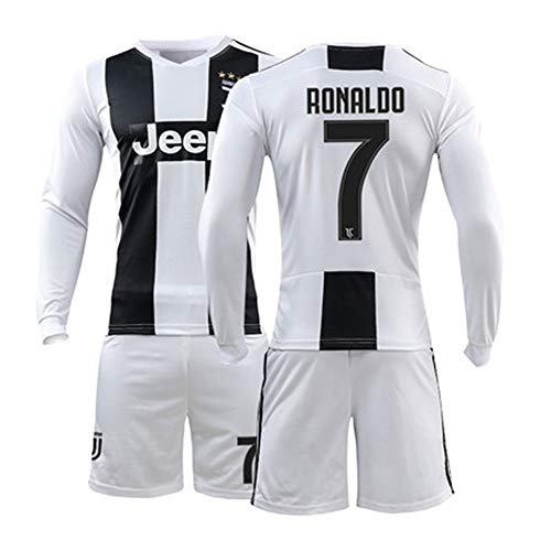 56c6c44bc LISIMKE 2018-2019 Home C Ronaldo  7 Juventus Kids Or Youth Soccer Jersey