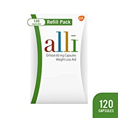 alli (orlistat 60 milligram capsules) is your smart edge for weight loss. Among weight loss products, it's the only FDA approved over the counter weight loss aid. Orlistat, the active ingredient in alli, is a lipase inhibitor and works by bin...