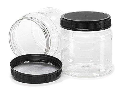 large mouth plastic jar - 2