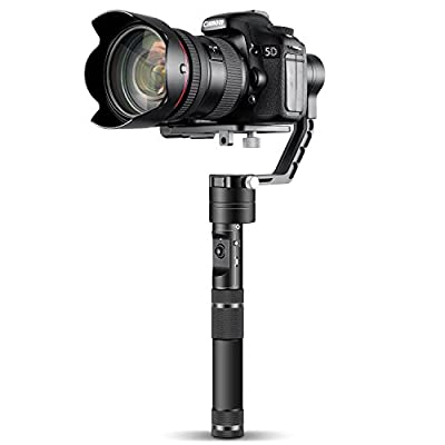 Zhiyun Crane 3-Axis Handheld Gimbal for DSLR & Mirrorless Cameras, CNC Aluminum Alloy Construction w/ 360° Brushless Motors from Zhiyun