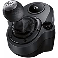 Logitech G Driving Force Shifter – Compatible with G29 and G920 Driving Force Racing Wheels for Playstation 4, Xbox One, and PC